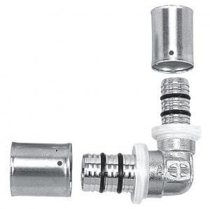 Фото  Распродажа остатков пресс-фитингов Rifeng  для металлопластиковой трубы