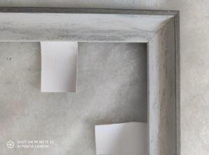 Фото Картины на холсте по номерам, Аксессуары, багеты (рамки), мольберты Багеты (рамки) Серая для картин  размером 40х50см