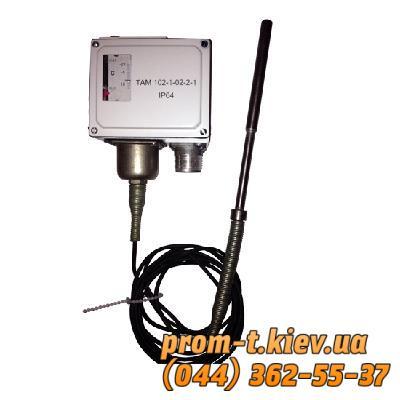 Фото Контрольно-измерительные приборы и автоматика, Клещи, тестеры, мультиметры, указатели напряжения, амперметры, вольтметры, регуляторы, сигнализаторы Датчик-реле температуры ТАМ-102