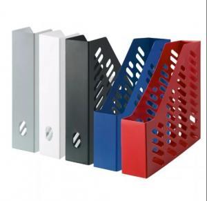 Фото Канцелярские товары (ЦЕНЫ БЕЗ НДС), Лотки для бумаг, Лотки вертикальные настольные, настенные Лоток для бумаги вертикальный