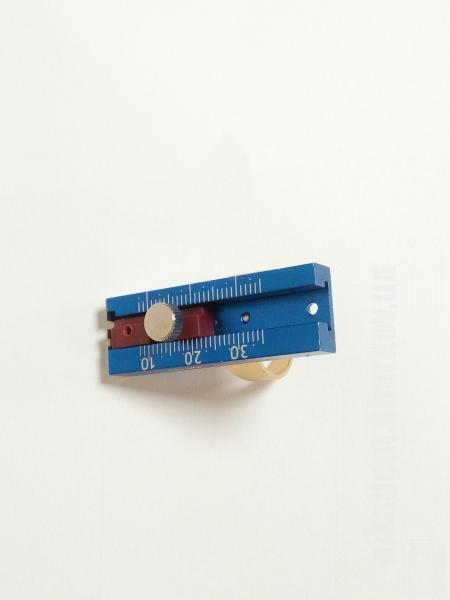 Фото Для стоматологических клиник, Эндоинструменты Эндолинейка на палец с фиксатором (Denco)