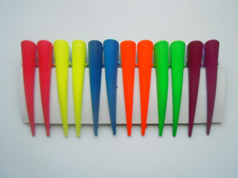 Фото Основы ,фурнитура для канзаши, Заколки, шпильки Зажим металический 7,7 см.