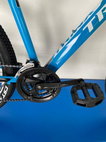 Фото ВЕЛОСИПЕДИ, TRINX Велосипед Trinx-2021 M136 ELITE синій чорний