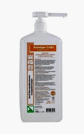Бланидас софт - жидкое мыло с глицерином (1000мл)