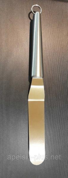 Шпатель кондитерский нержавеющая сталь 11,5 см рабочая поверхность