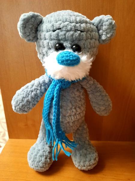 """Мягкая игрушка """"Мишка Тедди"""". Вязание на заказ. Вязаный крючок"""