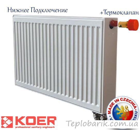 Фото Радиаторы отопления, Стальные (панельные) радиаторы отопления Радиатор стальной, марки RADIATORI 300*1100, (произведен в: Турция, 11 класс, высота 300мм)