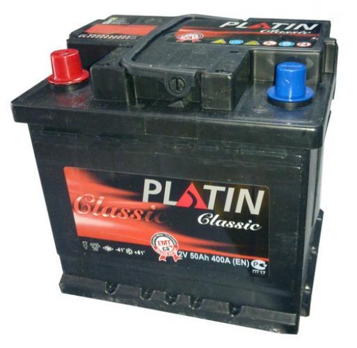 Фото Аккумуляторы для автомобилей Platin Classic 50