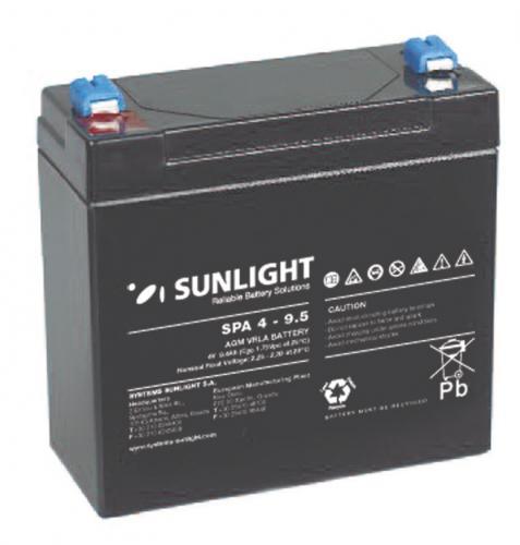 Фото Аккумуляторы для ИБП (UPS) Sunlight SP 4-9.5
