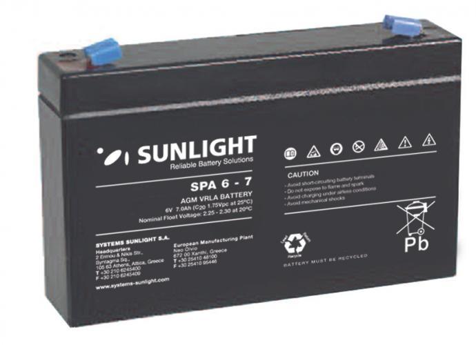 Фото Аккумуляторы для ИБП (UPS) Sunlight SP 6-7