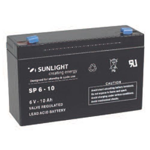 Фото Аккумуляторы для ИБП (UPS) Sunlight SP 6-10