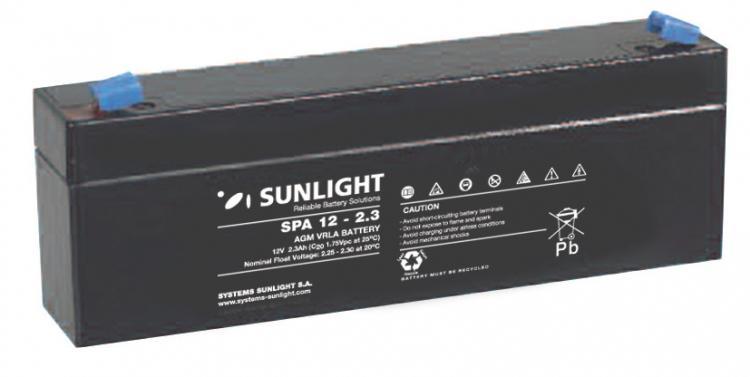 Фото Аккумуляторы для ИБП (UPS) Sunlight SF 12-2.3
