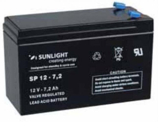 Фото Аккумуляторы для ИБП (UPS) Sunlight SP 12-7.2