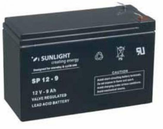 Фото Аккумуляторы для ИБП (UPS) Sunlight SP 12-9