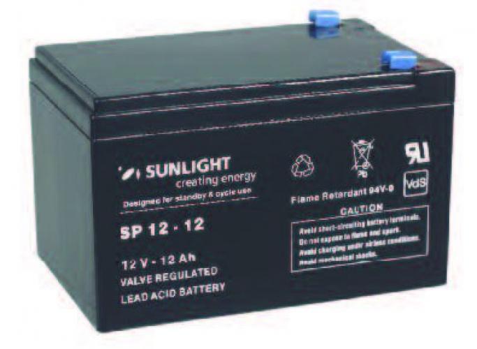 Фото Аккумуляторы для ИБП (UPS) Sunlight SP 12-12