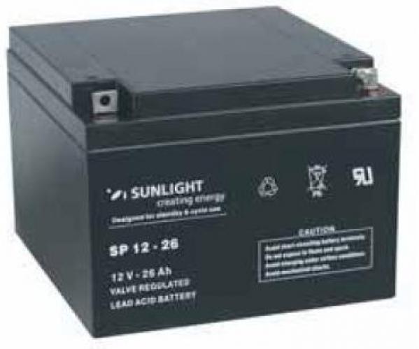 Фото Аккумуляторы для ИБП (UPS) Sunlight SP 12-26