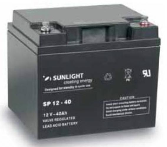 Фото Аккумуляторы для ИБП (UPS) Sunlight SP 12-40