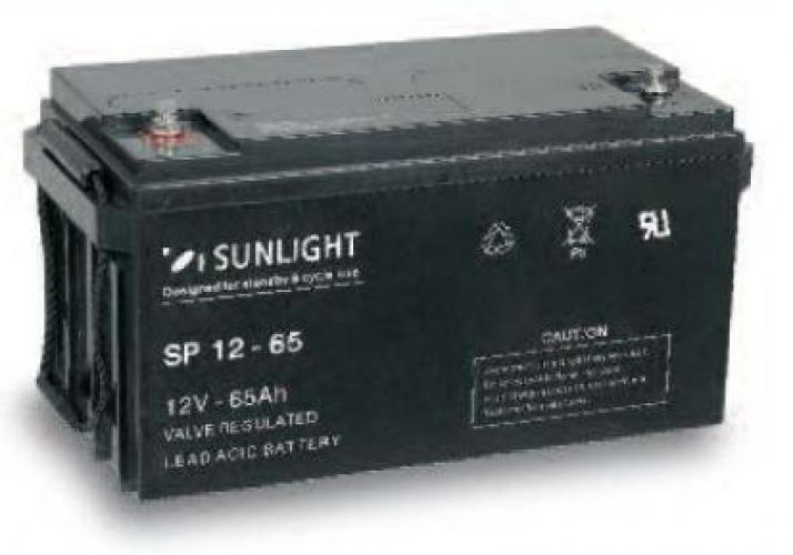 Фото Аккумуляторы для ИБП (UPS) Sunlight SP 12-65