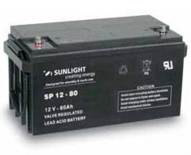 Фото Аккумуляторы для ИБП (UPS) Sunlight SP 12-80