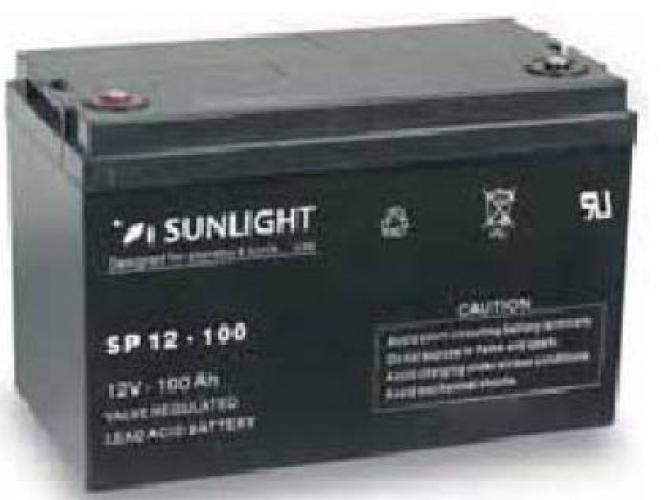 Фото Аккумуляторы для ИБП (UPS) Sunlight SP 12-100