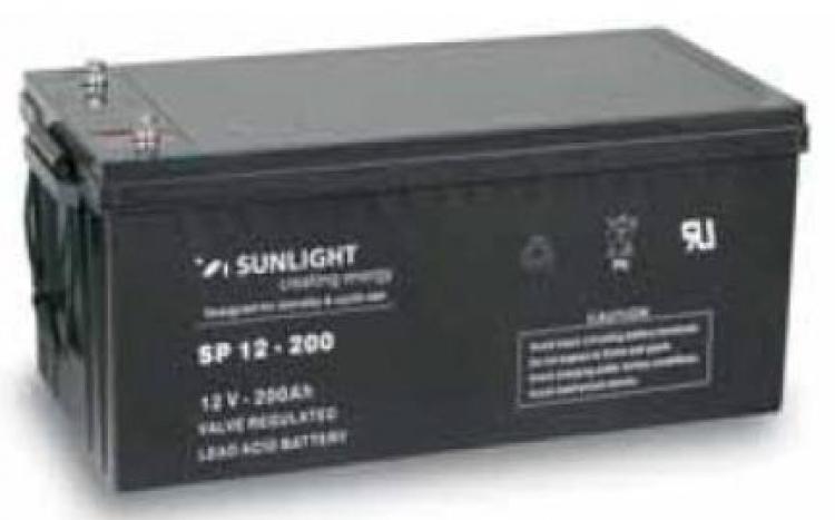 Фото Аккумуляторы для ИБП (UPS) Sunlight SP 12-200