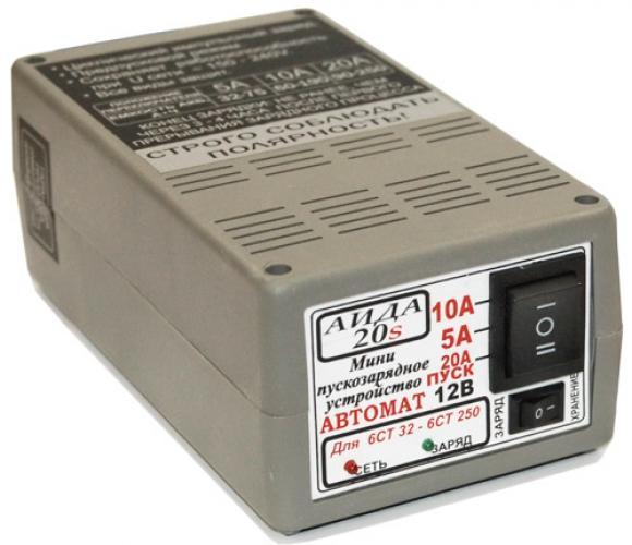 Фото Зарядные устройства АИДА 20S