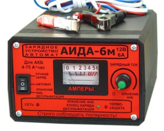 Фото Зарядные устройства АИДА 6M
