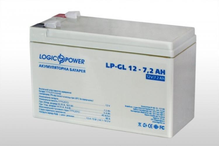 Фото Аккумуляторы для ИБП (UPS) LogicPower LP Гелевый аккумулятор LP-GL7.2