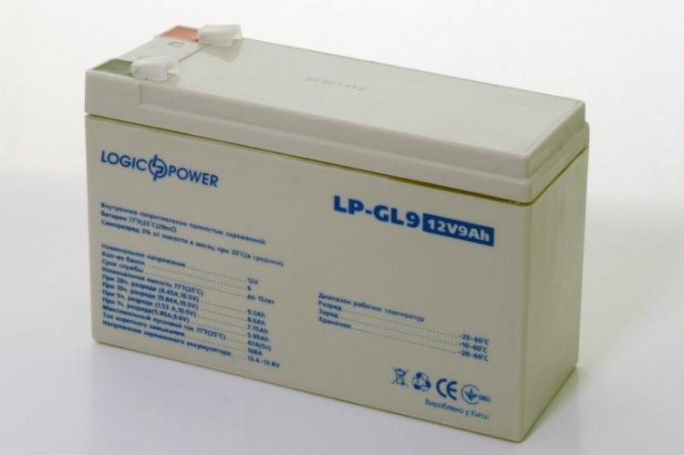 Фото Аккумуляторы для ИБП (UPS) LogicPower LP Гелевый аккумулятор LP-GL9