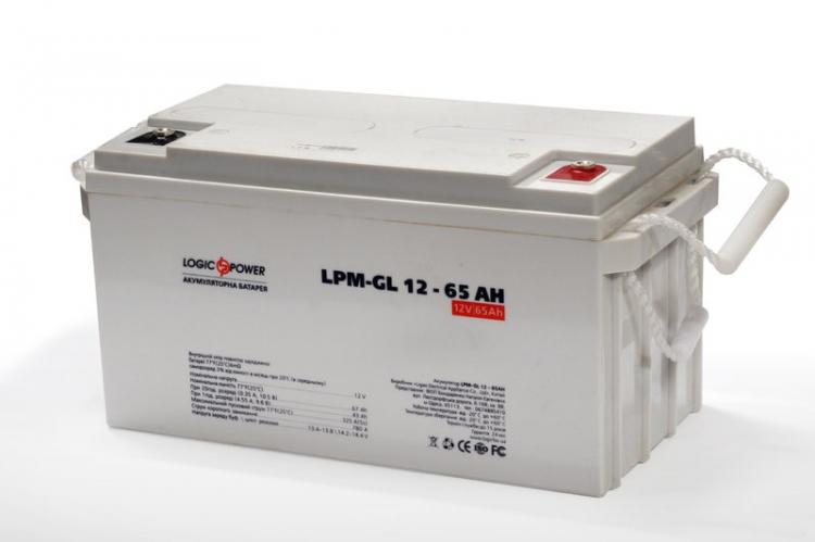 Фото Аккумуляторы для ИБП (UPS) LogicPower LP Гелевый аккумулятор LP-GL 65