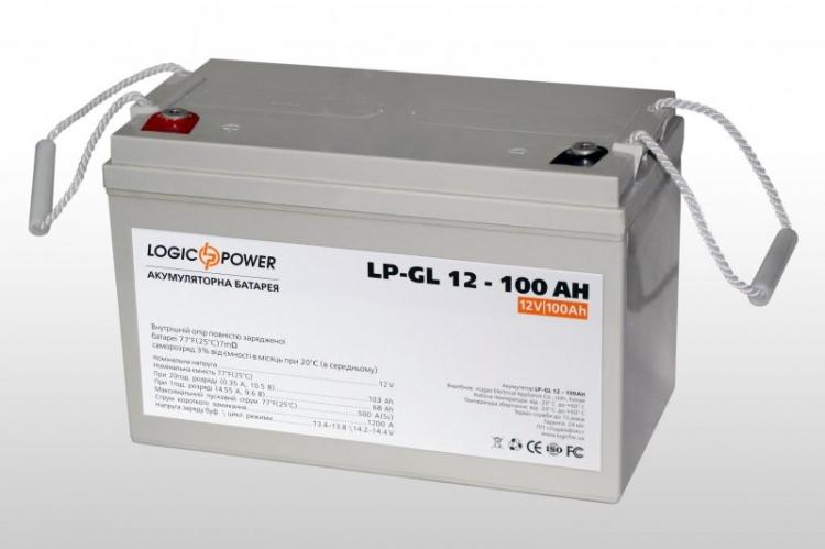 Фото Аккумуляторы для ИБП (UPS) LogicPower LP Гелевый аккумулятор LP-GL100
