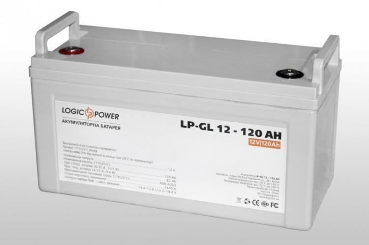 Фото Аккумуляторы для ИБП (UPS) LogicPower LP Гелевый аккумулятор LP-GL 12-120