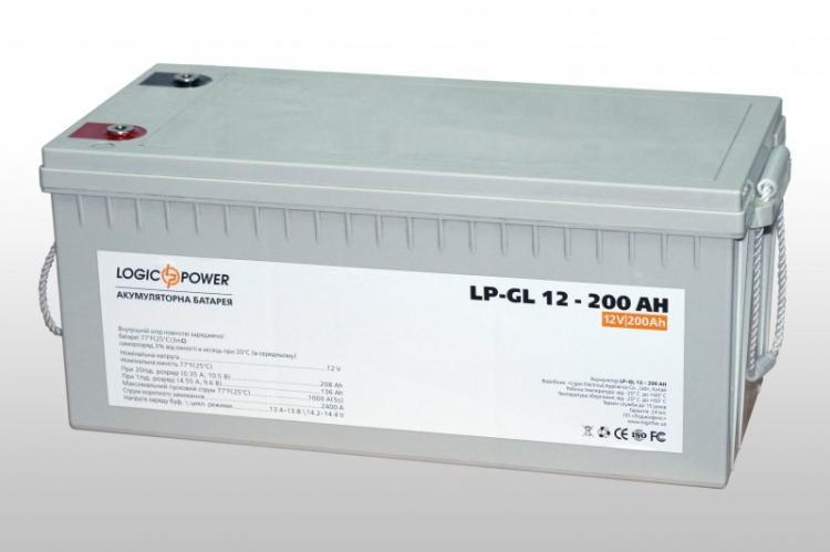 Фото Аккумуляторы для ИБП (UPS) LogicPower LP Гелевый аккумулятор LP-GL200