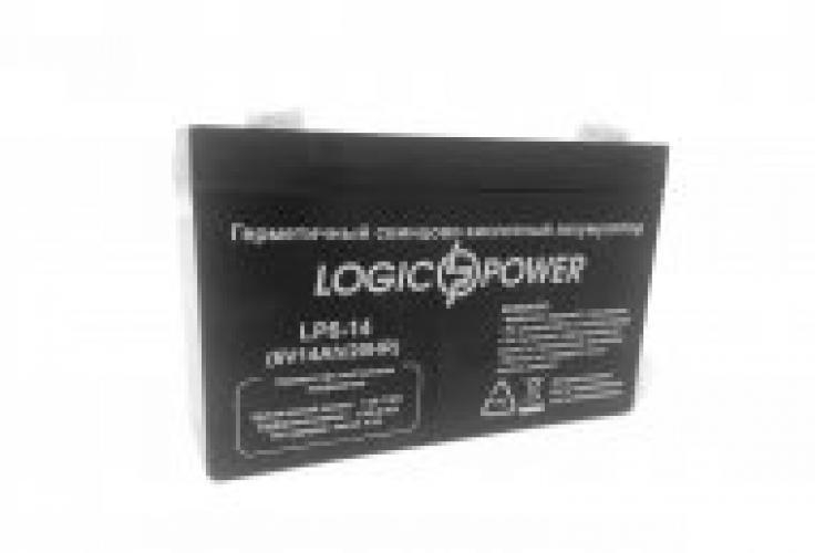 Фото Аккумуляторы для ИБП (UPS) LogicPower LP LP 6-14 6V 14Ah