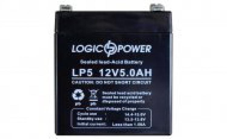 Фото Аккумуляторы для ИБП (UPS) LogicPower LP LP 12V 5.0Ah