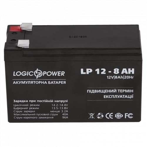 Фото Аккумуляторы для ИБП (UPS) LogicPower LP LP 12V 8.0Ah