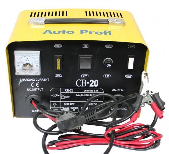 Фото Зарядные устройства Auto Profi CB-20