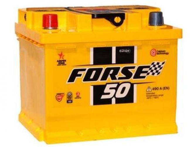 Фото Аккумуляторы для автомобилей Forse 6СТ - 50 А2Н