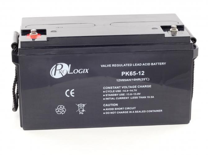 Фото Аккумуляторы для ИБП (UPS) ProLogix PK65-12