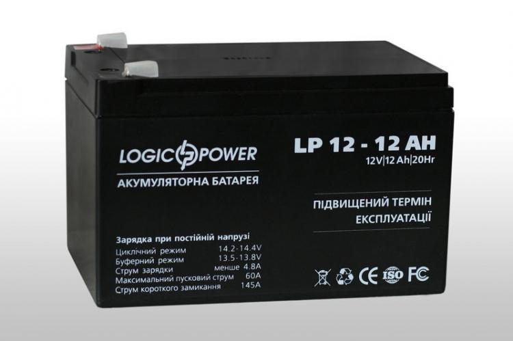 Фото Аккумуляторы для ИБП (UPS) LogicPower LP LP 12V 12Ah