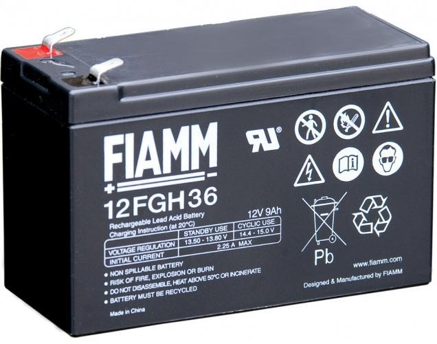 Фото Аккумуляторы для ИБП (UPS) FIAMM 12FGH36