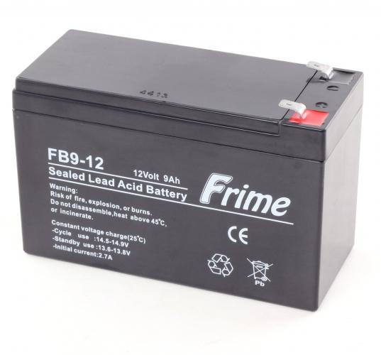 Фото Аккумуляторы для ИБП (UPS) ProLogix FRIME AGM 12V 9AH (FB9-12)