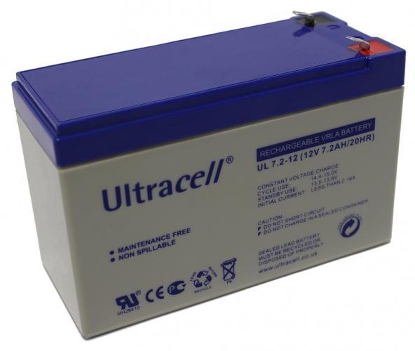 Фото Аккумуляторы для ИБП (UPS) Ultracell UL7.2-12 12V 7.2Ah