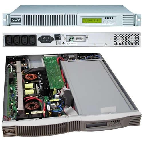 Фото Источники Бесперебойного Питания ( UPS ) Powercom VGD-700-RM 1U