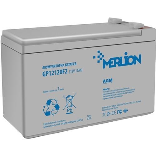 Фото Аккумуляторы для ИБП (UPS) Merlion GP1272F2 12V 7.2Ah
