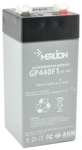 Фото Аккумуляторы для ИБП (UPS) Merlion GP44F1 4V 4Ah