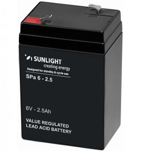 Фото Аккумуляторы для ИБП (UPS) Sunlight SP 6-2.5