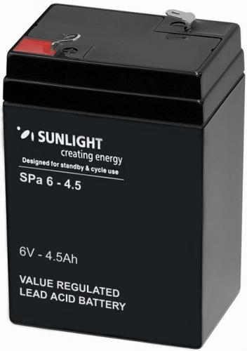 Фото Аккумуляторы для ИБП (UPS) Sunlight SP 6-4.5