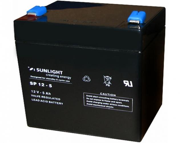Фото Аккумуляторы для ИБП (UPS) Sunlight SP 12-5