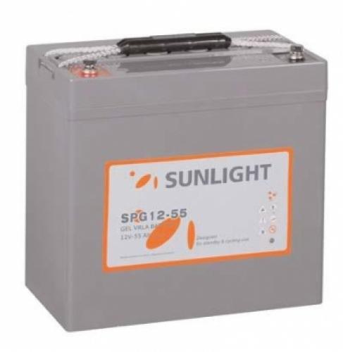 Фото Аккумуляторы для ИБП (UPS) Sunlight SPG 12-55